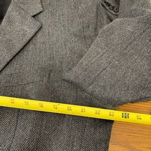 Macy's Suits & Blazers - Macy's Sport Jacket L 44 Gray Black Wool m2